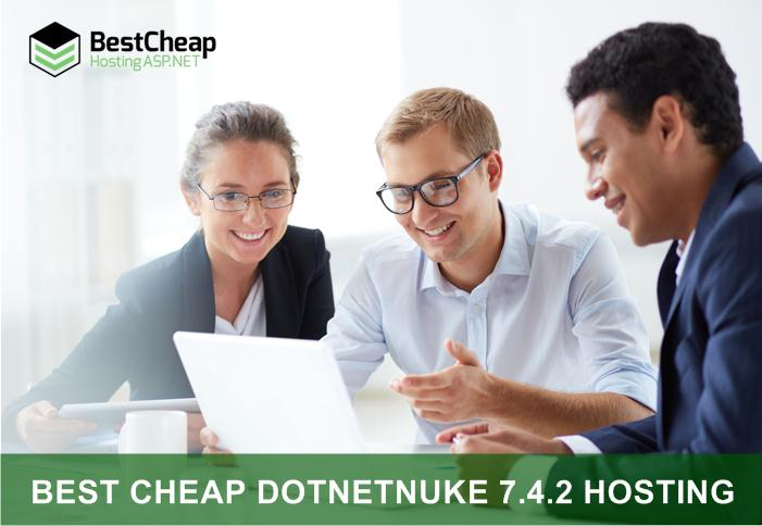 Best Cheap DotNetNuke 7.4.2 Hosting