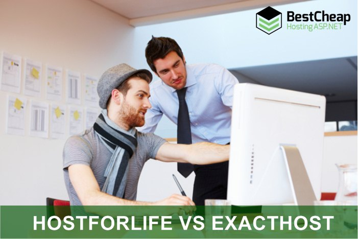 HostForLIFE VS ExactHost Best Cheap ASP.NET Hosting Comparison