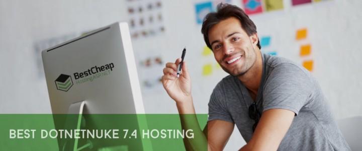 Best and Cheap DotNetNuke 7.4 Hosting Recommendation
